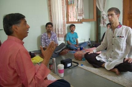 Ramakant Gundecha with Payton